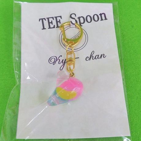 TEE Spoon レジンキーホルダー(ジェリービーンズ)Kyo-chanコラボ