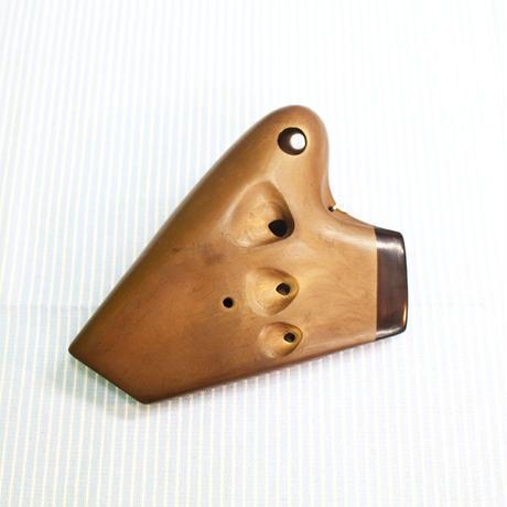 オオサワ オカリナ アルトC トリプレット管 AC-TN seriesⅡ ナチュラル仕上