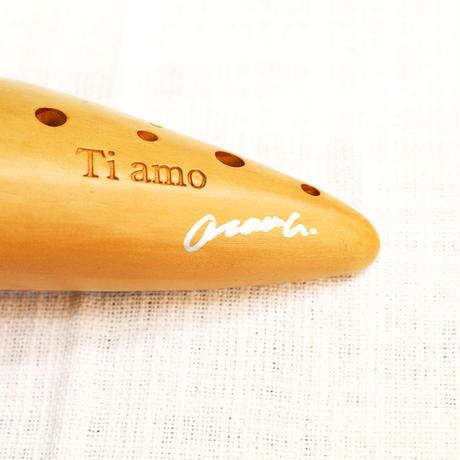 ティアーモ オカリナ アルトC シングル管 大沢セレクション イタリアーナ OI4C(合奏用)