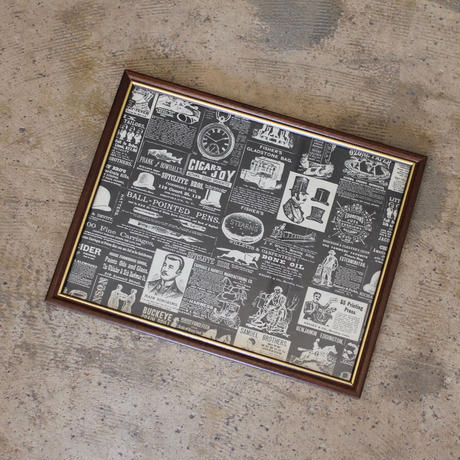 Wrapping Paper Framed