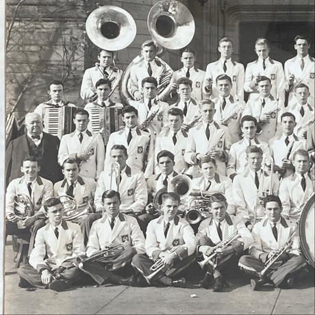 YALE Band Photo Flamed