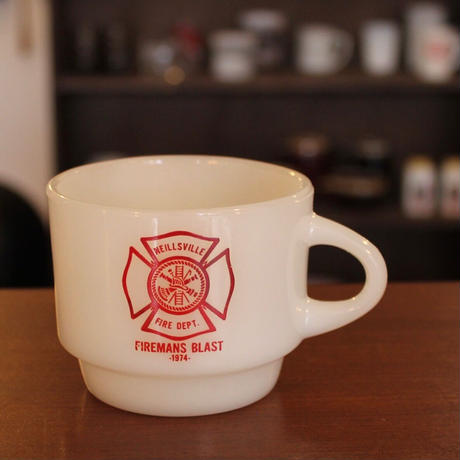 Fire-King Firemans Blast Mug