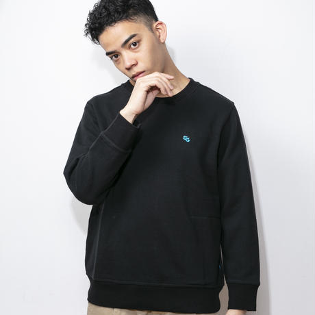 SUGARGLIDER LOOSEFIT SWEAT [BLACK]