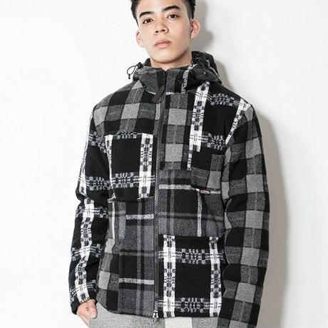 SUGARGLIDER Crazy Flyhigh Jacket [GRAY CHECK]