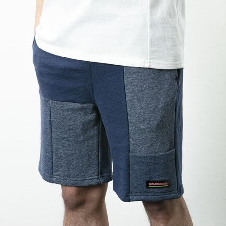 SUGARGLIDER CRAZY SWEAT SHORTS  2G [NAVY]