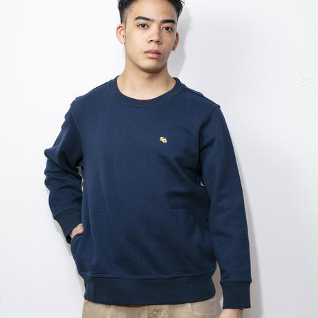 SUGARGLIDER LOOSEFIT SWEAT [NAVY]
