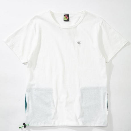 SUGARGLIDER  HIDE  POCKET TEE 【WHITE】