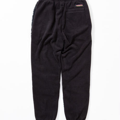 SUGARGLIDER CRAZY FLEECE PANTS [BLACK]