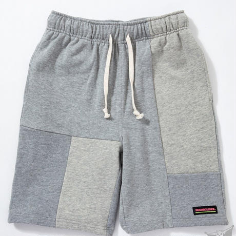 SUGARGLIDER CRAZY SWEAT SHORTS [H/GRAY]