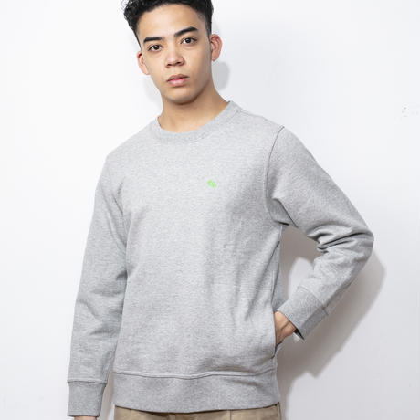 SUGARGLIDER LOOSEFIT SWEAT [H.GREY]