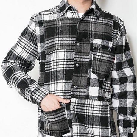 SUGARGLIDER Crazy Heavy Shirts [GRAY CHECK]
