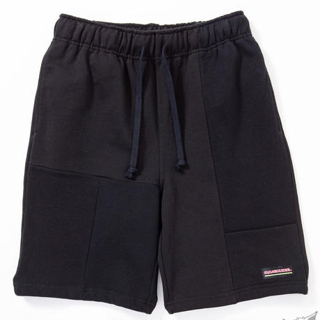 SUGARGLIDER CRAZY SWEAT SHORTS [BLACK]