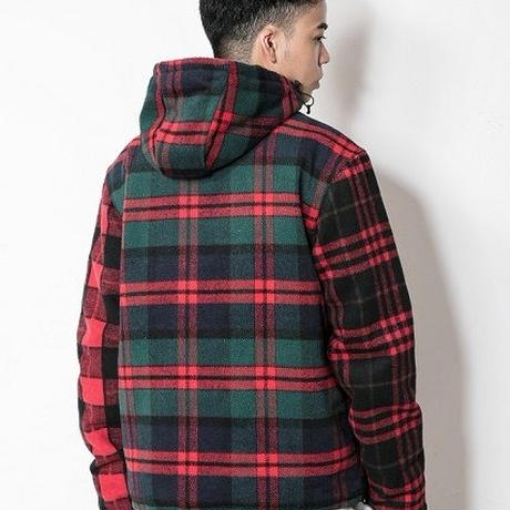 SUGARGLIDER Crazy Flyhigh Jacket [RED CHECK]