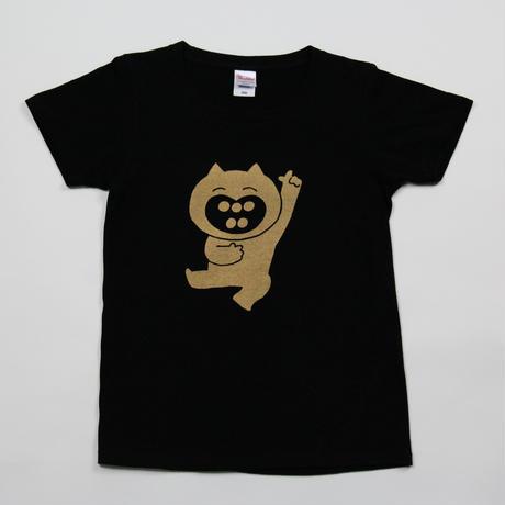 あかるいねこTシャツ