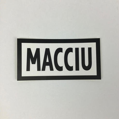 【MACCIU】STICKER SET