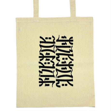 "【MACCIU】TOTE BAG ""UNTITLED #02 (NOTHING IS PERMANENT)"""