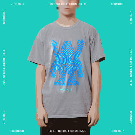 NEON TOYS 2020 1ST COLLECTION [SLIT] - TEES01_Gray