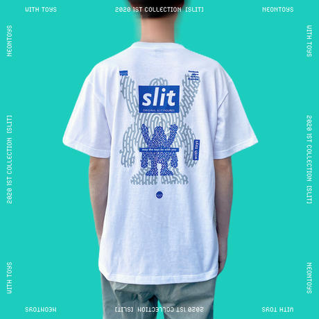 【NEON TOYS】2020 1ST COLLECTION [SLIT] - TEES02_White
