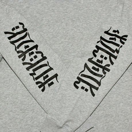 "【MACCIU】SWEATSHIRT ""UNTITLED #02 (NOTHING IS PERMANENT)"""