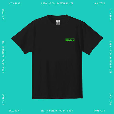 NEON TOYS 2020 1ST COLLECTION [SLIT] - TEES02_Black