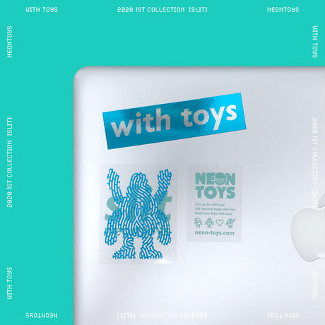 NEON TOYS 2020 1ST COLLECTION [SLIT] - STIKER PACK