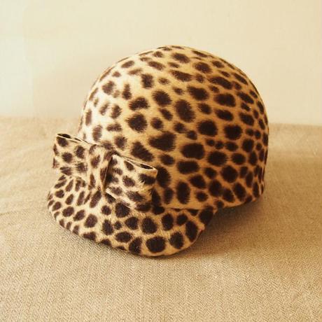 ジョッキーキャップ(Leopard)