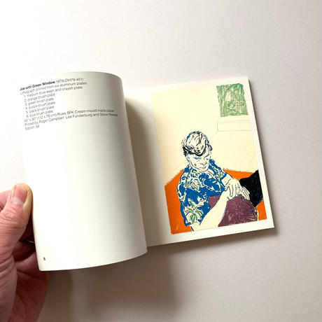 David Hockney : 23Lithographs 1978-1980