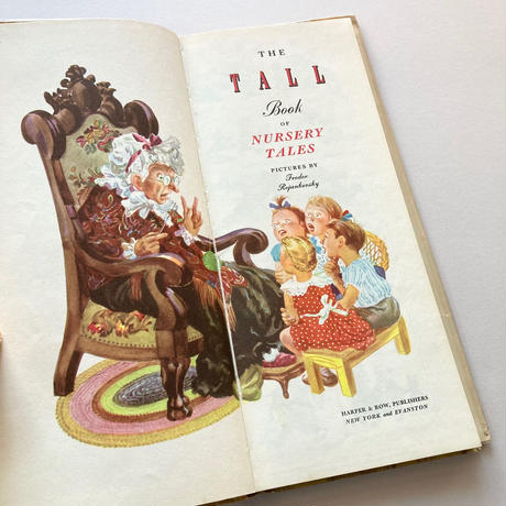 The Tall Book of Nursery Tales【1944年・初版】