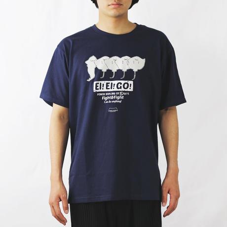 Tシャツ(エイエイゴー)- インディゴ