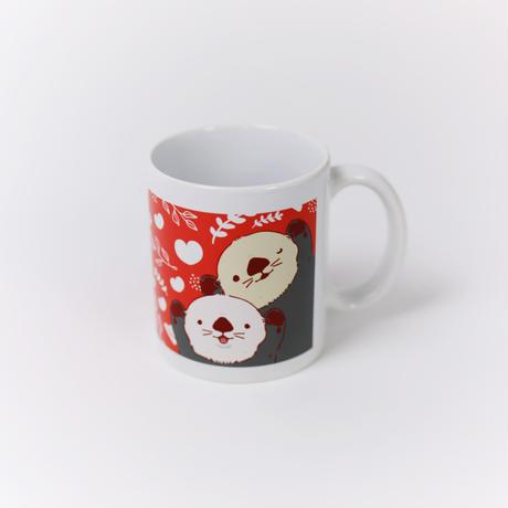 【数量限定】陶器マグカップ(マナ&リロ)