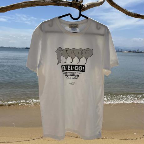 Tシャツ(エイエイゴー)- バニラ