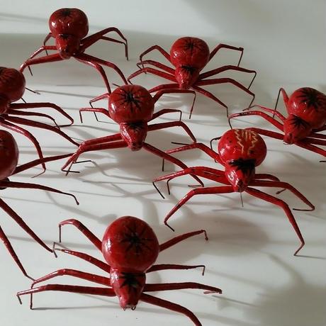 昆虫模型:蜘蛛  8匹セット