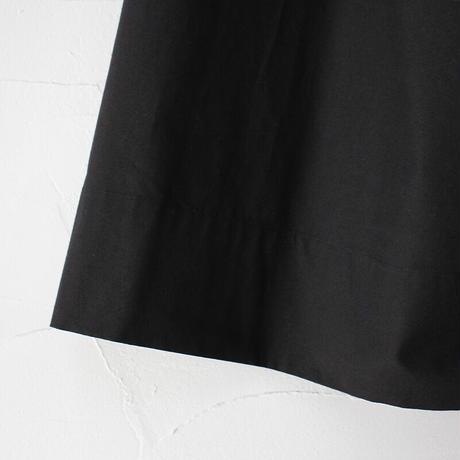 atelier naruse アトリエナルセ コットンパッチポケットスカート #オフ白、ブラック 【送料無料】