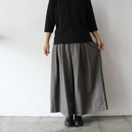 SUSURI ススリ ピザントパンツ #smoky brown 【送料無料】