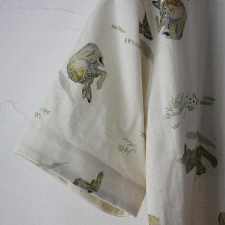 ASEEDONCLOUD アシードンクラウド study of wild rabbit sakurashi blouse  #ナチュラル 【送料無料】