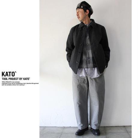 KATO' カトー ウールドンキーコート ♯チャコール、ネイビー 【送料無料】