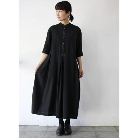 SUSURI ススリ ポートタックドレス #black 【送料無料】