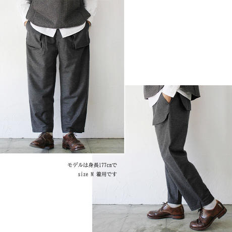 ASEEDONCLOUD アシードンクラウド Wedding Loden Spriggan Trousers #Dark Grey【送料無料】