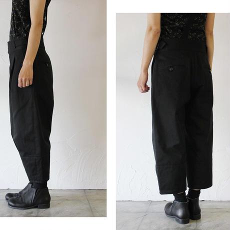 ASEEDONCLOUD アシードンクラウド cifonier trousers #ブラック 【送料無料】