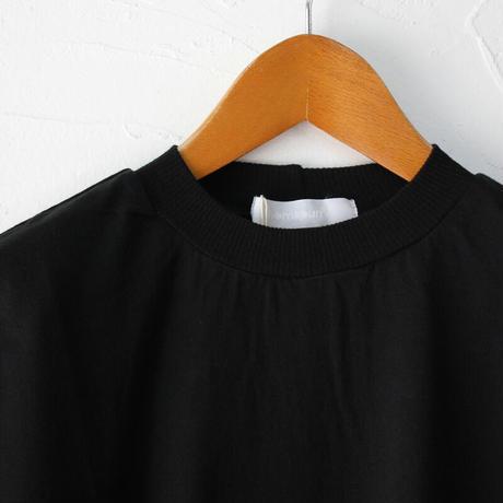 homspun ホームスパン 60/2天竺半袖プルオーバー #サラシ、モカ、ブルー、ブラック