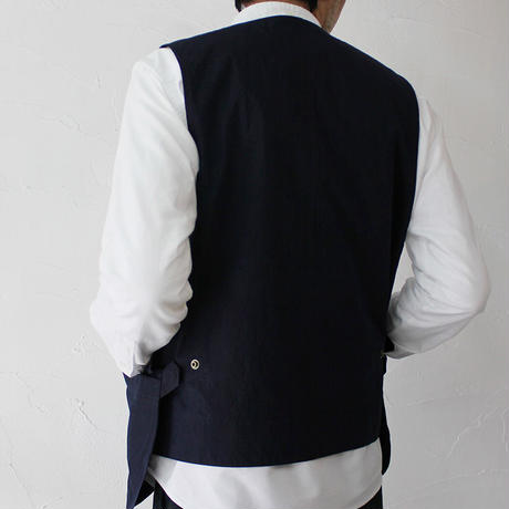 ASEEDONCLOUD アシードンクラウド working typewriter cloth seeding vest #indigo 【送料無料】