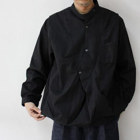 FUNSET OF ART ファンセットオブアート WAGESAプルシャツ #ブラック 【送料無料】
