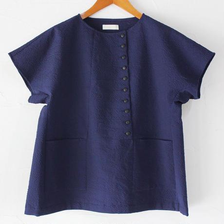 susuri ススリ アンゴロシャツ ♯ネイビー 【送料無料】