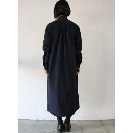 15 jyugo ジュウゴ 高密度コットンギャザーTABIワンピース #ダークネイビー 【送料無料】