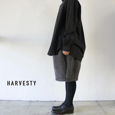 HARVESTY ハーベスティ ボアサーカスショーツ #ベージュ、チャコール 【送料無料】