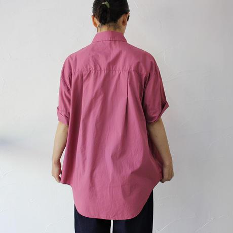 CAERULA カエルラ cotton broad trase shirts #ネイビーストライプ、サックス、ピンク、ホワイト