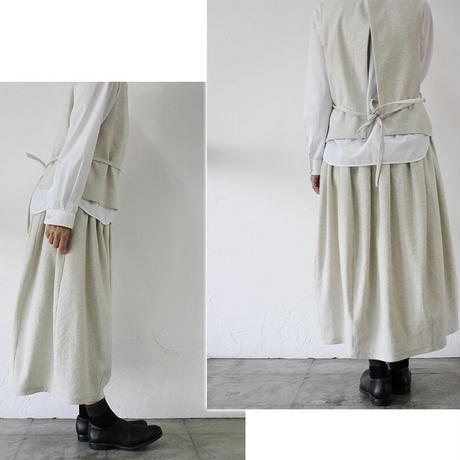SUSURI ススリ パストラルスカート #ivory 【送料無料】