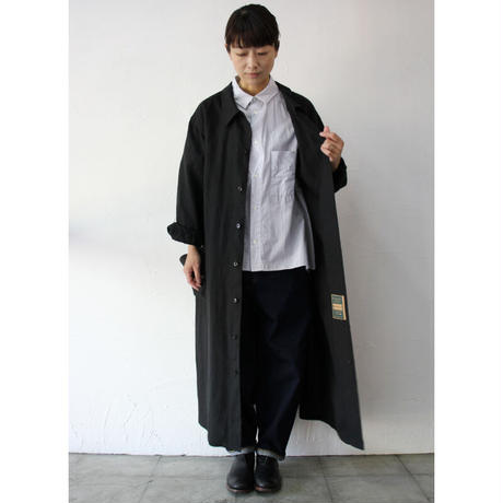 ASEEDONCLOUD アシードンクラウド HandWerker herbalist coat  #off white , black 【送料無料】