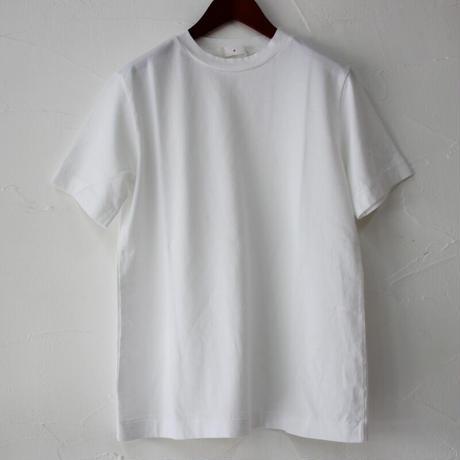 homspun ホームスパン 40/2天竺半袖Tシャツ #サラシ、チャコール、ブラック