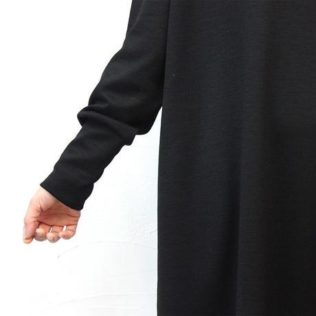 **またまたブラック再入荷** LinenYa ハイネックワンピース #ブラック、グレー 【送料無料】
